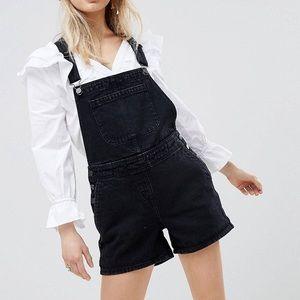ASOS denim short overalls